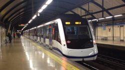 Detenido por empujar a un hombre a las vías del metro de Madrid cuando pasaba el