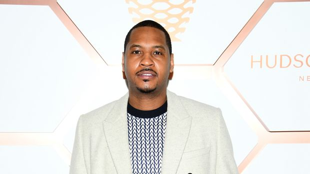 NEW YORK, NEW YORK - MARCH 15: Carmelo Anthony attends Hudson Yards, New York's Newest Neighborhood, Official Opening Event on March 15, 2019 in New York City. (Photo by Dimitrios Kambouris/Getty Images for Related)