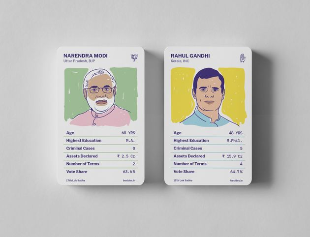 Mantri Cards is a simple trading card game that even kids can play, which teaches you about Indian