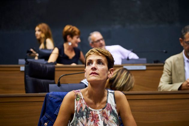María Chivite, presidenta de