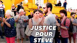 L'émouvant hommage à Steve à Nantes, entre silence et