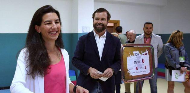Rocío Monasterio e Iván Espinosa de los