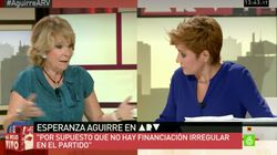 La reacción de Cristina Pardo al recordar esta respuesta de Aguirre en 2015 sobre la corrupción en el