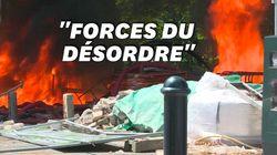 Les images des tensions à Nantes après l'hommage pour