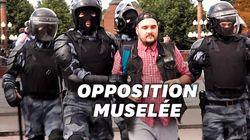 Les images de la répression à Moscou contre des opposants à
