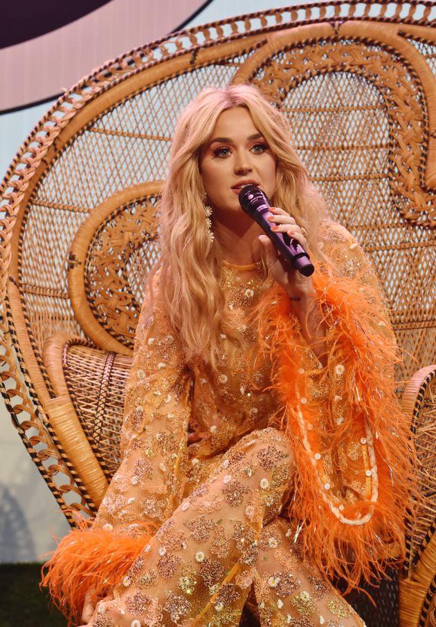 Katy Perry, à Los Angeles, en Californie, en mai
