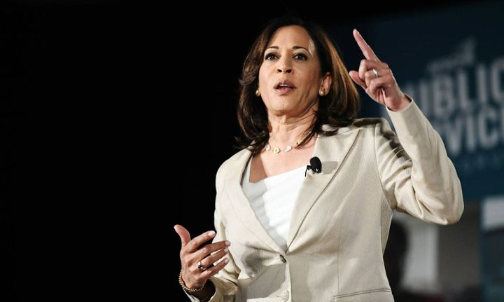 Sen. Kamala Harris (D-Calif.) also said she decided against eliminating private health insurance plans because many people ar