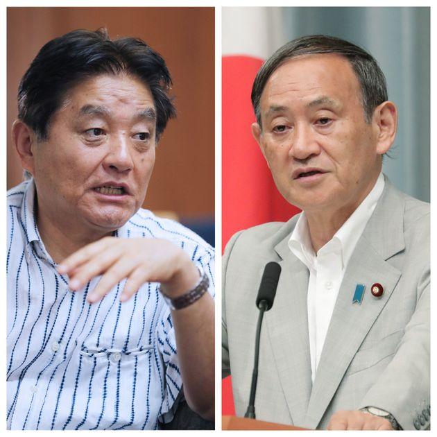 河村たかし名古屋市長と菅義偉官房長官