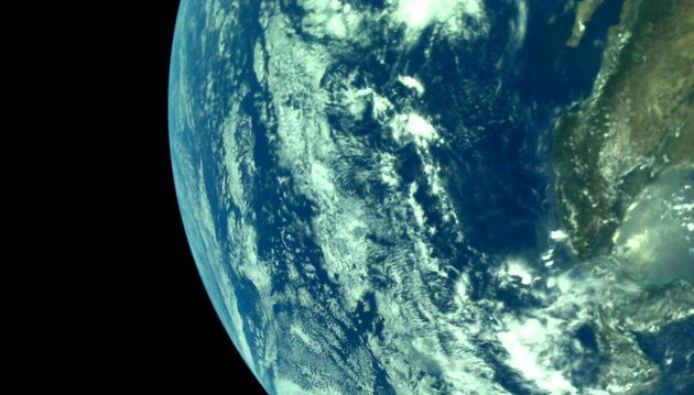 ISRO Releases First Pictures Of Earth Captured By Chandrayaan