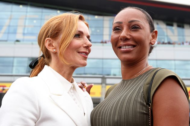 Spice Girls Mel B And Geri Horner In A Good Place After Difficult Phase