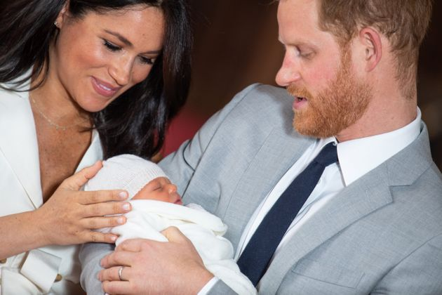 Meghan and Harry cradle little Archie at his first official photo call in