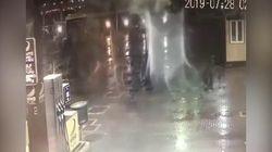 Ecco la tromba d'aria che ha ucciso Noemi a Fiumicino. Le immagini del distributore di benzina
