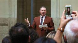 Kevin Spacey réapparaît à Rome en public pour la première
