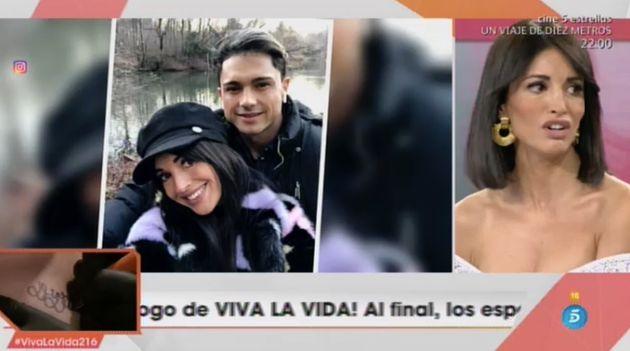 La modelo Noelia López en 'Viva La
