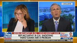 Pour les républicains, le problème derrière les fusillades est... les jeux