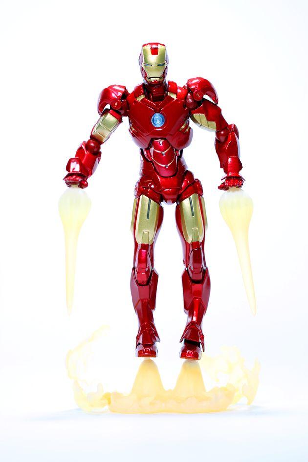 アイアンマンの模型