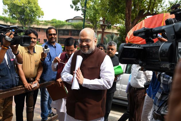 Article 370 Giving Special Status To Jammu And Kashmir Scrapped, Says Amit