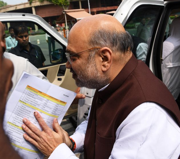 This Photo Tells Us More About Amit Shah's Kashmir Plans Than The Govt Has So