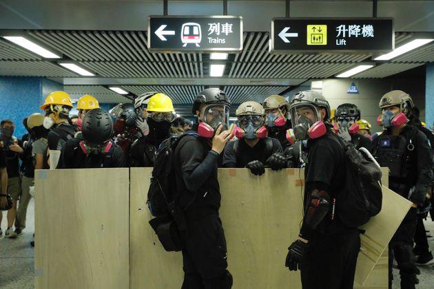 À Hong Kong, les prodémocratie sèment le chaos dans les