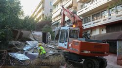 Κατεδαφίσεις επικίνδυνων κτιρίων της Αθήνας