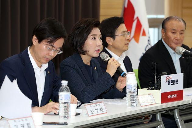 자유한국당이 '문재인 한일 갈등 극대화' 음모론을
