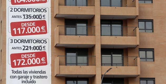 El precio de la vivienda repunta en julio un 4,5
