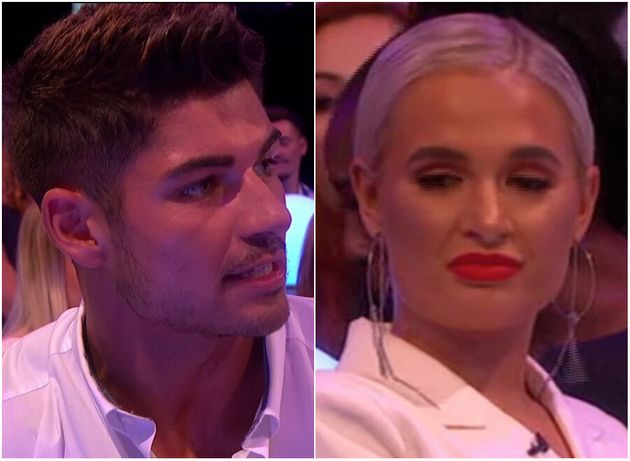 Love Islands Anton Confronted About Molly-Mae Feud During Live Reunion