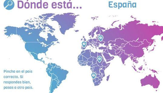 Ponte a prueba: sitúa diez países en un mapa del