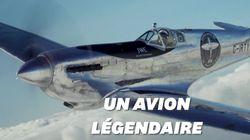 Ils tentent le premier tour du monde en Spitfire, un avion de la Seconde Guerre