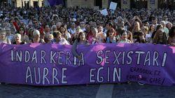 Indignación en Bilbao por la puesta en libertad de 4 de los arrestados por una violación