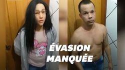 Ce détenu brésilien a tenté de s'évader en se déguisant en sa