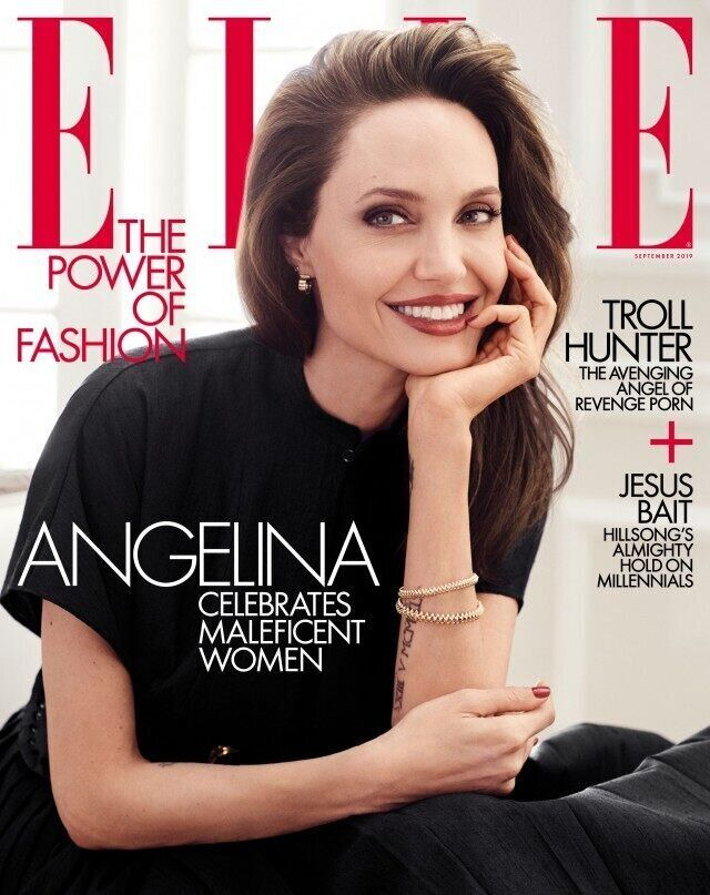 """Jolie wrote that there's """"nothing more attractive ... than a woman with an independent will and her own opinion."""""""