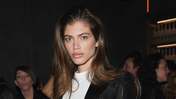 MILAN, ITALY - FEBRUARY 22:  Valentina Sampaio attends the Dsquared2 Volt Party on February 22, 2017 in Milan, Italy.  (Photo by Venturelli/Getty Images for Dsquared2)