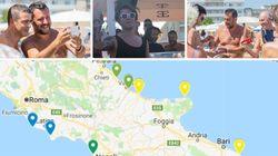 Ο Σαλβίνι περιοδεύει στις παραλίες, πίνει μοχίτο και παριστάνει τον
