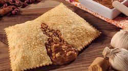 Esta pastelaria criou um pastel de Paçoquita com doce de