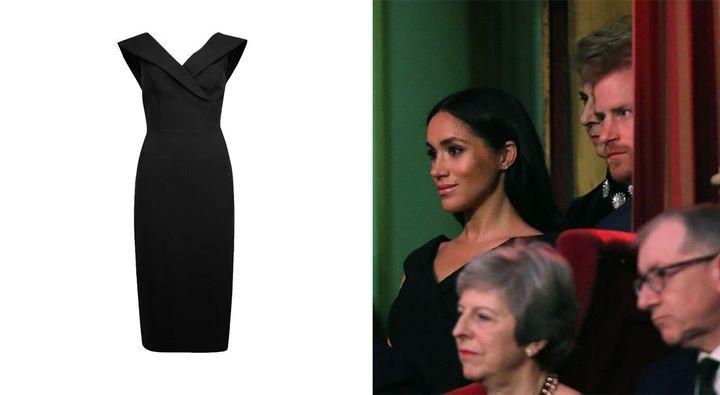 Meghan Markle's £55 Marks & Spencer Dress Is Back In Stock – In All Sizes   HuffPost Life
