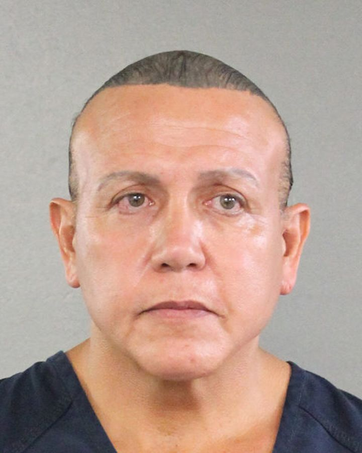 Cesar Sayoc admitted to mailing 16 improvised explosive devices to those he perceived as President Trump's en