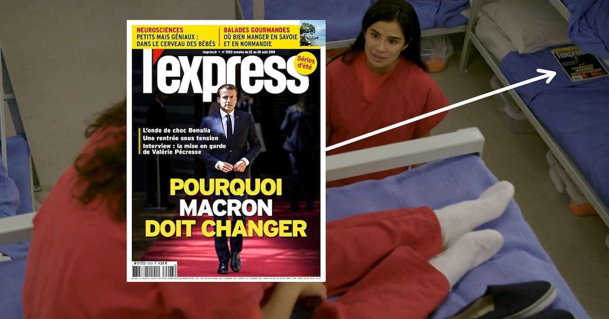 """L'Express"" apparaît dans ""Orange is The New Black"""