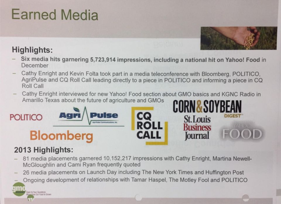 An Inside Look At How Monsanto, A PR Firm And A Reporter Give Readers A Warped View Of