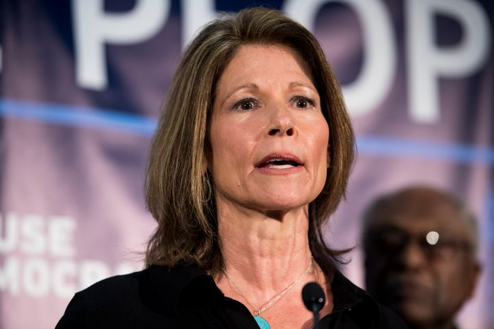 Rep. Cheri Bustos of Illinois, a moderate Democrat who chairs the Democratic Congressional Campaign Committee, has struggled