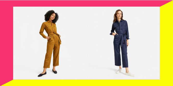 Everlane's new utility jumpsuit is destined to become a wardrobe staple.