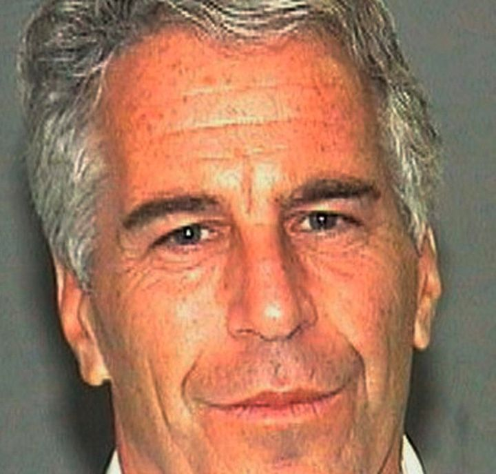 Jeffrey Epstein is seen in his 2016 arrest photo by the Palm Beach, Fla., Sheriff's Office. The wealthy financier and convict