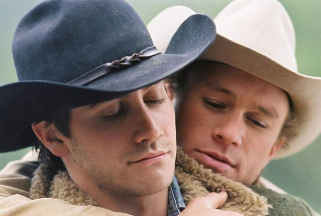 Heath Ledger e Jake Gyllenhaal em cena de O Segredo de Brokeback Mountain