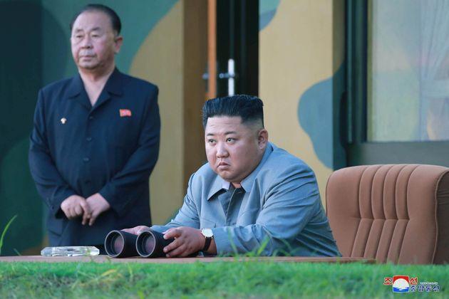 Pyongyang accuse Washington et Séoul de violer les efforts de paix (photo d'illustration de Kim...