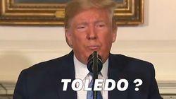 Trump se trompe sur le nom de la ville de la fusillade dans l'Ohio, la maire