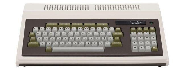 伝説の名機「PC-8001」が手の平サイズで復活。40年前のNEC製パソコン