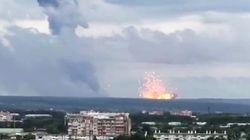 Esplode un deposito di munizioni: il boato fa tremare la terra