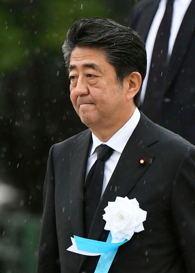 아베 총리가 '한국 화이트 리스트 배제' 후 침묵 깨고 처음으로 한