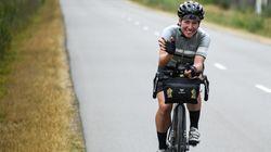Cette cycliste novice remporte devant les hommes l'une des courses les plus difficiles du
