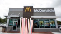Des pailles en papier pas recyclables, la mauvaise surprise des McDonald's